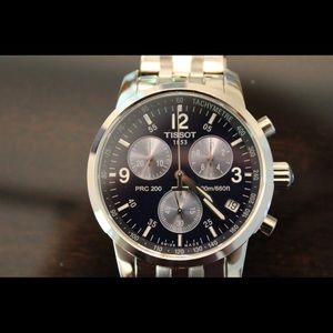 Tissot Accessories - Tissot navy blue watch